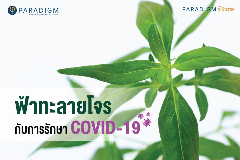 ฟ้าทะลายโจรกับการรักษา COVID-19